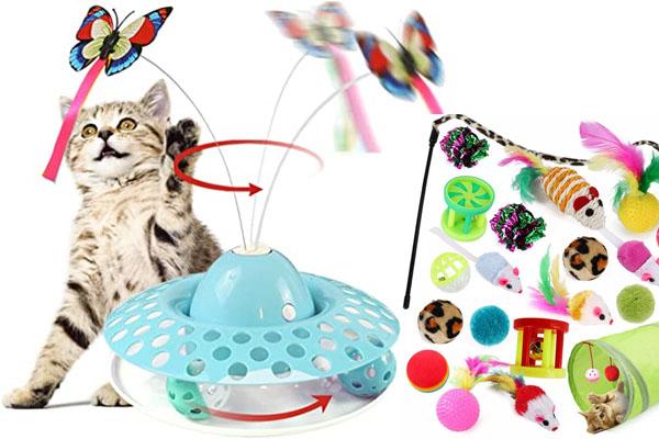 Los juegos para gatos